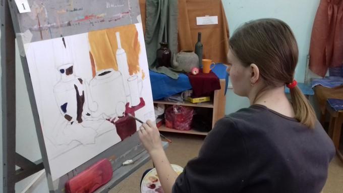 В ВГСПУ пройдет пробный творческий экзамен по рисунку, живописи и композиции