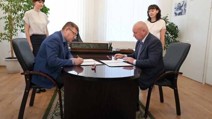 Волгоградский государственный социально-педагогический университет и администрация Волгограда заключили Соглашение о сотрудничестве