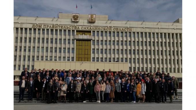 Участники торжественного открытия Вахты Памяти