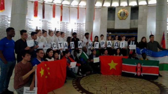 Студенты ВГСПУ участвуют в патриотических мероприятиях